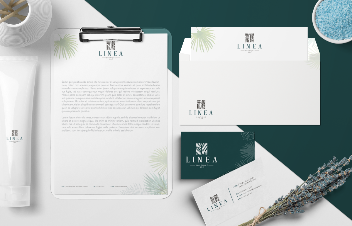 Linea Boutique Spa-Branding