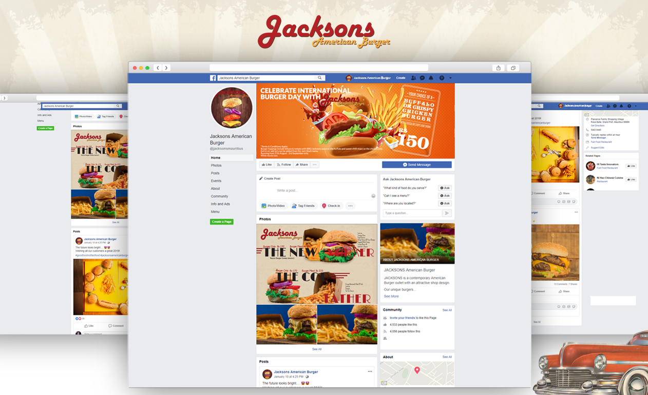 Jackson's American Burger-Communication