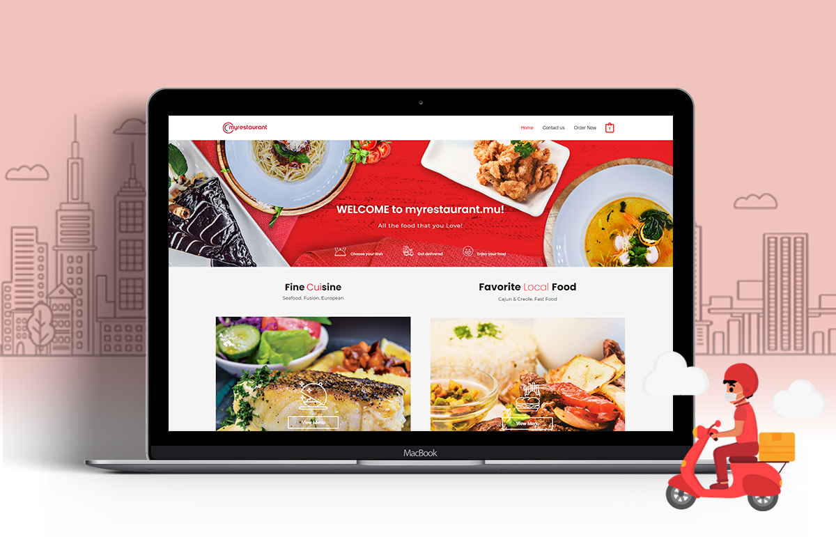 My Restaurant – E-commerce