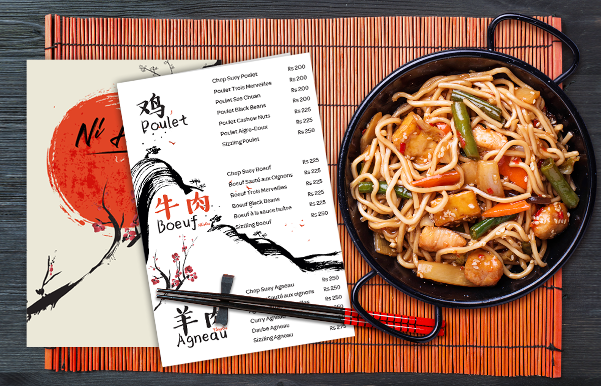 Ni Hao Chinese Cuisine-Corporate ID and Marketing