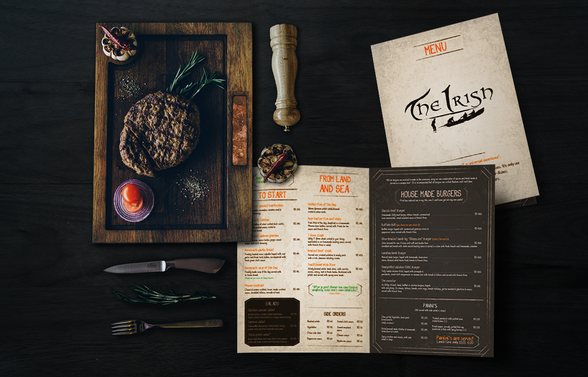 the-irish-menu-card